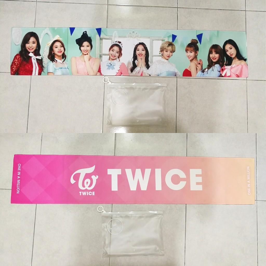 Twice Official Slogan Twiceland The Opening Slogan (There are some flaws on back)