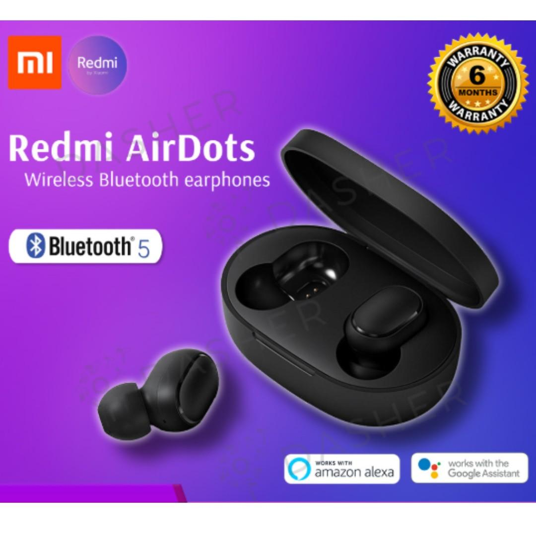 Xiaomi RedMi AirDots Bluetooth Earphone Wireless TWS Headset