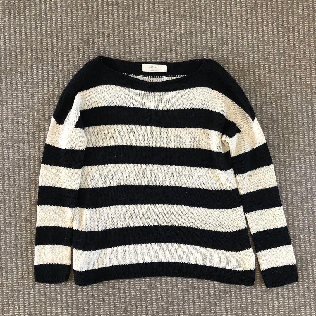 Zara Knit Jumper Sweater