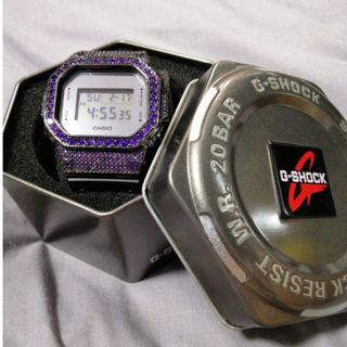 Customised Violet Casio G-Shock DW5600