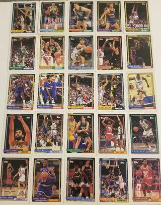 Vintage NBA topps