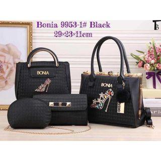 New Arrival Bonia 4 in 1 Tote Hangbags Sling Bags For Women