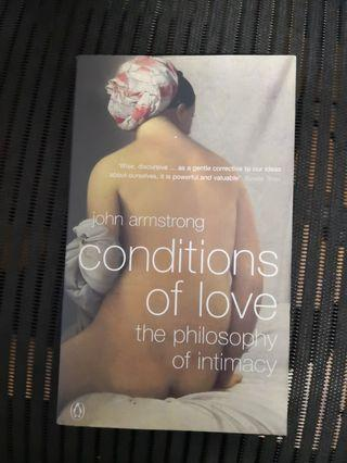 Conditions of Love : The Philosophy of Intimacy