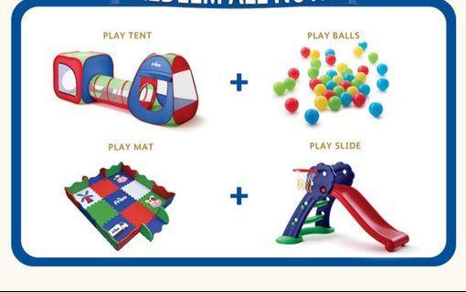 Friso playgrounds set