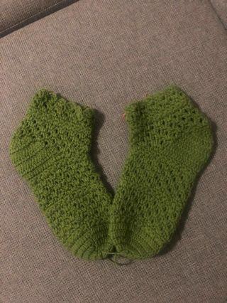 Kaus kaki rajut (Veggie Socks)