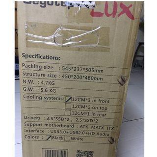 Segotep LUX (Casing sahaja)