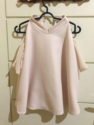 ATS THE LABEL nude top 💕