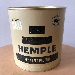 HEMPLE PROTEIN POWDER - RAW 50% PROTEIN 500g