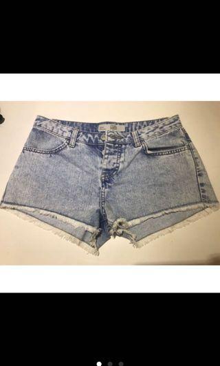 Topshop 牛仔短褲