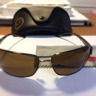 🚚 Ray Ban 玳瑁色 偏光鏡片 太陽眼鏡