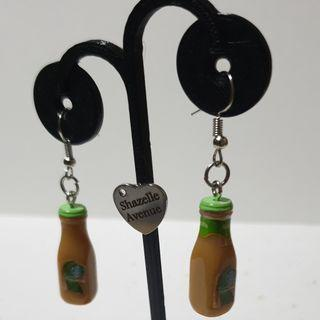 Starbucks Matcha Earring with Hook accessories