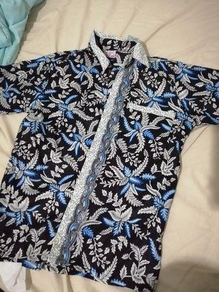 Batik Shirt in Blue