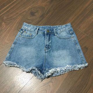 BN Blue Denim Shorts