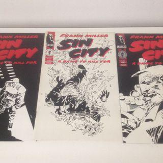 SIN CITY A DAME TO KILL FOR #1-6