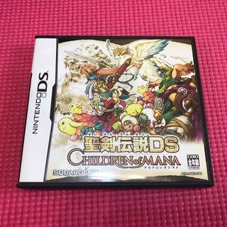 🚚 【二手】日版 DS NDS 聖劍傳說 瑪納之子
