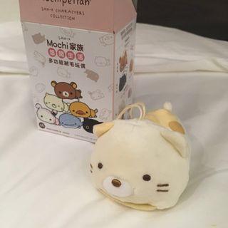 (包郵)San-X Mochipettan Mochi 家族 Sumikko Gurashi 玩偶 公仔 角落生物 貓 證件套 台灣7-11限定 現貨