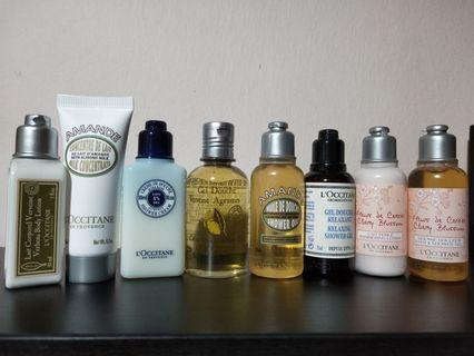 Loccitane soaps and lotions