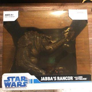 star wars jabba's rancor with luke skywalker