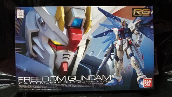 RG Freedom Gundam 自由高達. ZAFT  Mobile Suit ZGMF-X10A 機動戰士#MTRssp