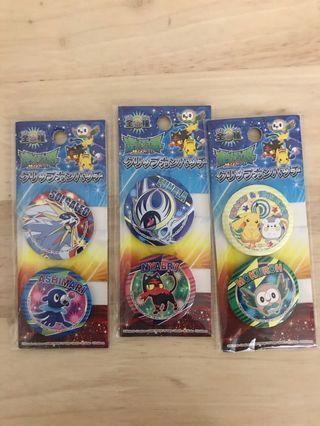 🚚 Pokemon Badges