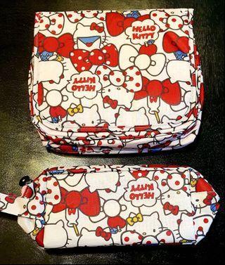 Hello Kitty Make up kit Pouch Organizer