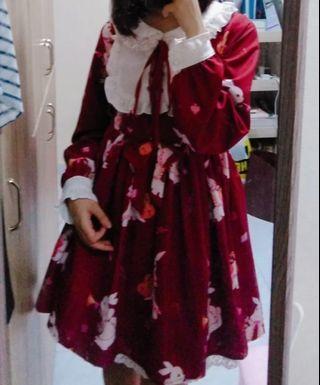 Red Lolita Dress