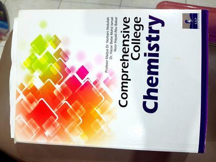 Chemistry comprehensive college ,STPM, A-level , foundation