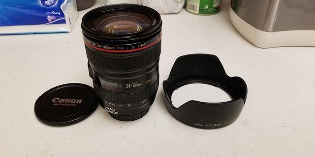 Canon EF Lens 24-105mm F/4L IS USM