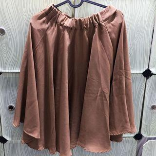 Brown Skirt - Rok coklat