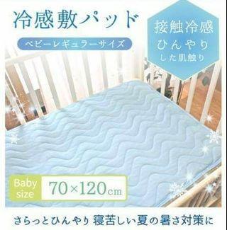 🆒冷感涼感PU防水💧床墊/枕巾 原廠貨尾單减價售 出口日本 兒童嬰兒BB冰感隔尿墊 適合夏天使用 全新