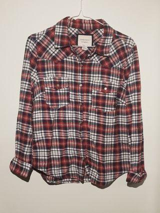 🚚 Red Checkered Flannel