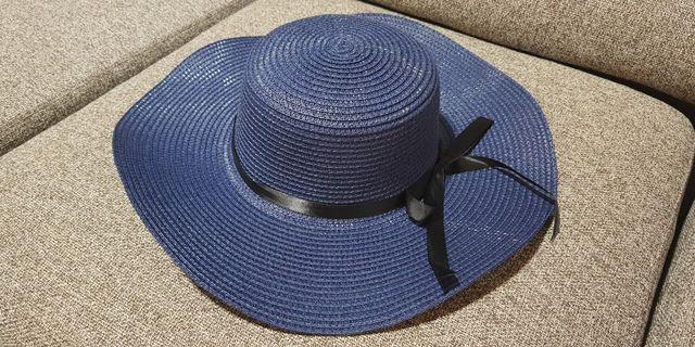 Blue Beach Hat