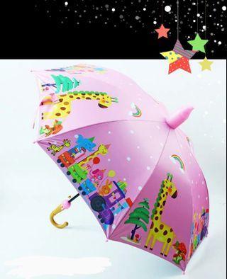🚚 兒童晴雨傘