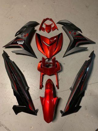 Y15ZR COVERSET MERAH ROBOT ORI MOTO SNIPER 150 EXCITER 150