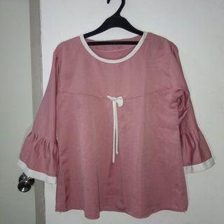 Blouse Milky Pink