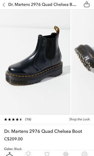 Dr. Marten Quad Chelsea Boots