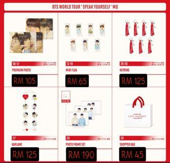 【CLOSED ORDER】Speak Yourself Tour MD (18/5-New Jersey in US)