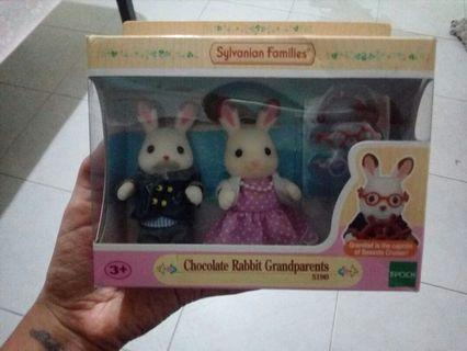 2 FOR $30 Sylvanian Family- chocolate bunny