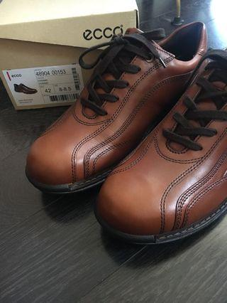Ecco leather dress shoes