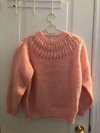 Vintage chunky knit sweater M/L