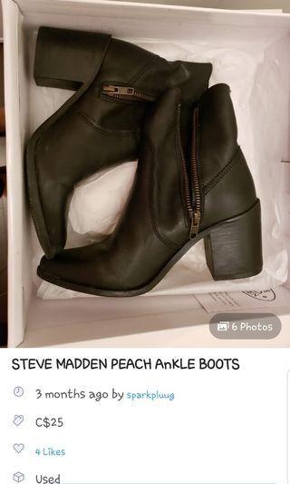 Steve Madde Boots