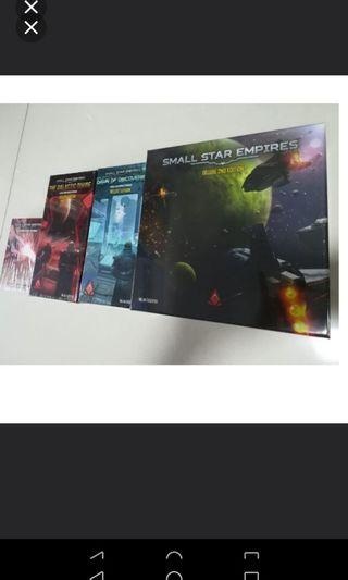 🚚 Small Star Empires DELUXE 2nd edition Kickstart Edition + both DELUXE expansions