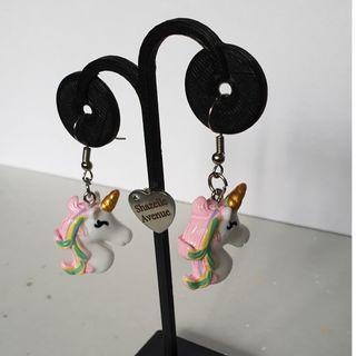 Unicorn Earring with Hook accessories