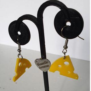Cheese Earring with Hook accessories