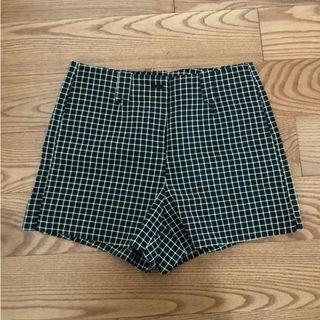Grid Pattern Shorts