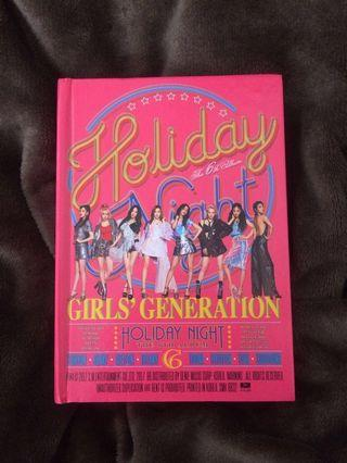 Official Girls Generation (SNSD) Holiday Night Album