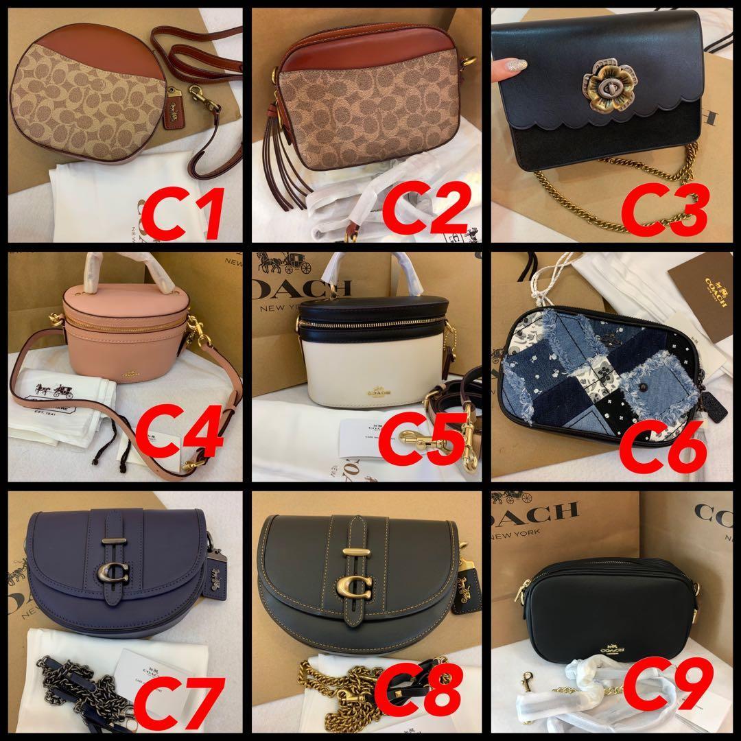 (06/05/19) Authentic Ready Stock original coach women bag backpack woc wallet purse camera bag sling bag Tory Burch handbag Kate spade purse