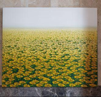 """A Thousand Daisies"" Large Oil Painting"