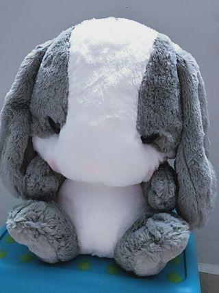 Cute fluffy rabbit backpack
