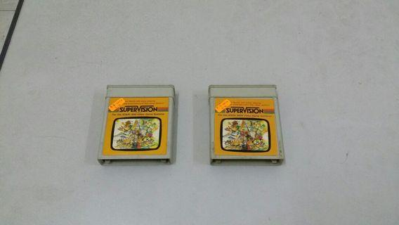 Atari 2600 (2nd Set) Game cartridges